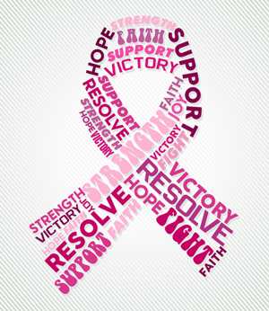 Breast cancer support pics
